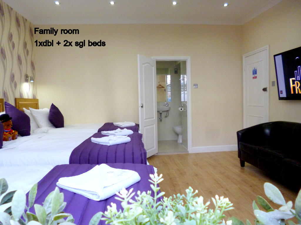 central London hotel with family rooms
