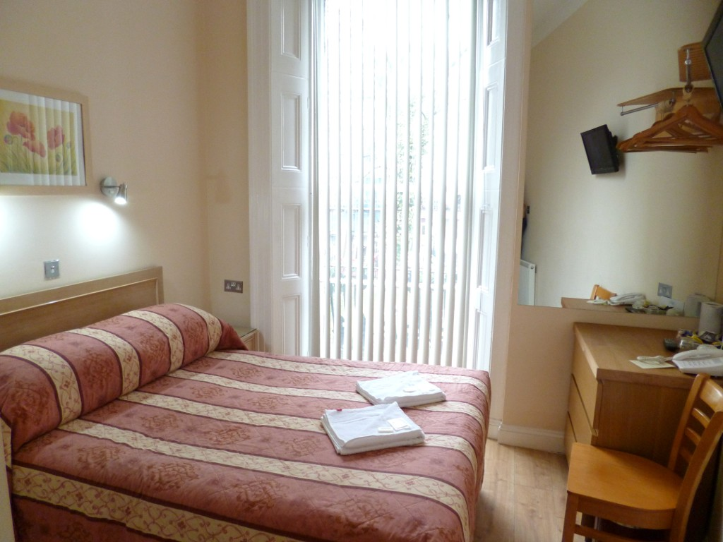 Double room in Cardiff Hotel